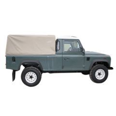EXT208 - Three Quarter Hood for Land Rover Defender 110 - Cab Fit Hood - By Exmoor Trim - Comes in Multiple Trim Options