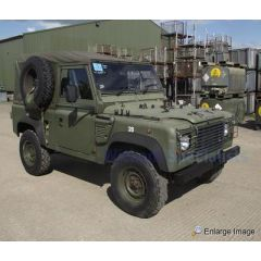 EXT296-G - Defender 110 Full Hood for Wolf Vehicles in Green (Image shows Defender 90)