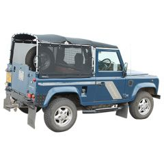EXT411 - Land Rover Defender 90 Mesh Hood - Easy Fit Hood comes in UV and Rainproof Intelligent Mesh