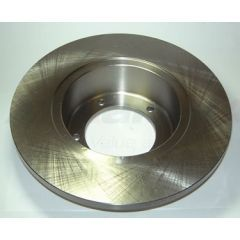 LR017951 - Front Non-Vented Disc (Solid) for Defender, Discovery and Range Rover Classic (Comes as Single Brake Disc)
