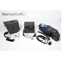 FTLD012 - Defender 90 Extra Fuel Tank - 40 Ltr  - Mounted Including Transfer Pump - For 200TDI and 300TDI