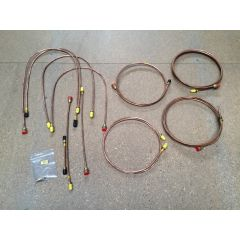 GB6008 - Range Rover Classic with Rear Valve 1980 Brake Pipe Set in Copper by Automec (Only One Item Available)