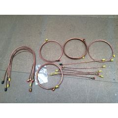 GB6009 - Range Rover Classic WITHOUT Rear Valve 1980 Brake Pipe Set in Copper by Automec (Only One Item Available)
