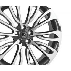 HALCYON-GP - Hawke Halcyon Alloy Wheel in Gunmetal Polished Finish - For Range Rover Sport, Vogue or Discovery
