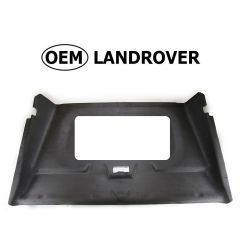 OEM Land Rover Head Lining in Alston Black for Defender 110 - Front Cab Section With Sunroof