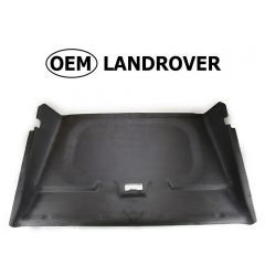 OEM Land Rover Head Lining in Alston Black for Defender 110 - Front Cab Section Without Sunroof