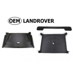 OEM Land Rover Head Lining in Alston Black (Suede Effect) for Defender 90 -  Complete Headlining - Vehicles without Sunroof
