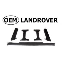 OEM Land Rover Head Lining in Alston Black for Defender Truck Cab - Rear Window Surround Section