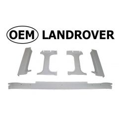 OEM Land Rover Head Lining in Ripple Grey for Defender Truck Cab - Rear Window Surrounds