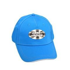 LACH015BLA - Land Rover Baseball Cap - Comes in Blue with Union Jack Oval Logo