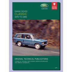 LHP1 - Technical Publication On CD - Range Rover Classic (1972-1985)
