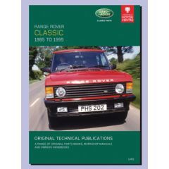 LHP2 - Technical Publication On CD - Range Rover Classic (1986-1992)