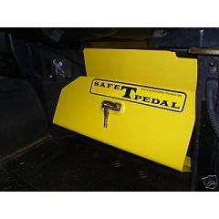 LR-SAFE1 - SAFE T PEDAL - Land Rover Defender Mechanical Security Device - Fitment on to all RHD Land Rover Defender from 2007