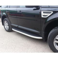 LR002773 - Freelander 2 Genuine Style Side Steps - Comes as a Pair of Left and Right Hand Steps with Full Fitting Kit