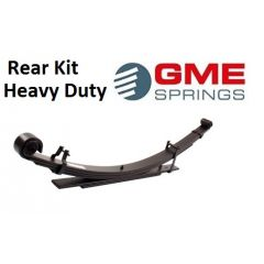 LR003KIT - Rear Heavy Duty Parabolic Spring Kit for Land Rover Series 2, 2A and 3 by GME Springs - Set of Two Springs