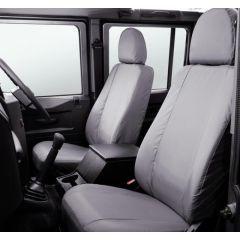 LR005128 - Defender Front Seat Covers in Grey - 2007 Onwards - Genuine Land Rover Item