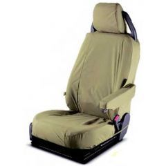 LR005214 - Discovery 3 Front Seat Covers in Sand (Without DVD) - Genuine Land Rover