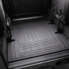 LR005613 - Defender Puma 110 Station Wagon 5 Seater Loadspace Rubber Mat - From 2007 Onwards