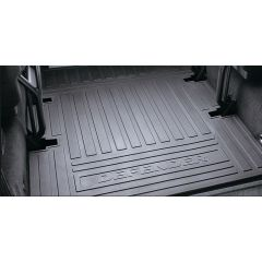 LR005615 - Defender 90 Station Wagon Loadspace Rubber Mat - Genuine Land Rover (FOR 90 VEHICLES FROM 2007 - Puma Engine)