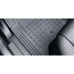 LR006240 - Discovery 3 & 4 Premium Front Black Rubber Mat Set - Genuine Land Rover (LHD) - From 2008-2013