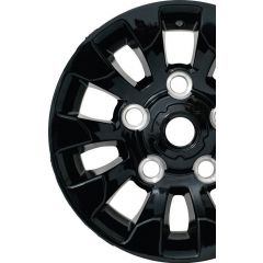 LR025862 - Black Gloss Defender Sawtooth Alloy - X-Tech Alloy - 16 x 7 - For all Land Rover Defender Models