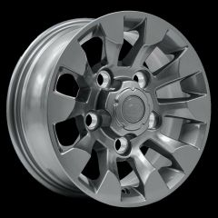 LR025862ANTH - Sawtooth Alloy in Anthracite - X-Tech Alloy - 16 x 7 - For Defender - Like Defender LXV Alloy Wheel LR051775