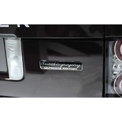 LR030967 - Autobiography - Ultimate Edition Badge for the Ultimate Upgrade of Your Range Rover