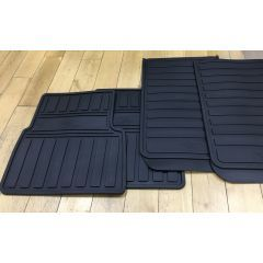 LR069114 - Front and Rear Heritage Logo Mat Set for Land Rover Defender - Fits All Vehicles from 2012 Onwards