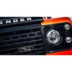 LR069120 - Defender Heritage Land Rover Oval Logo - For Use On Adventurer Grille