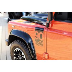 LR069122 - Genuine Land Rover Defender 90 Adventurer Wing Badge - Special Edition Decal Badge for Front Wing
