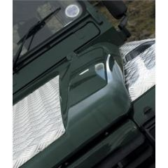 LR67-3 - Defender Chequer Plate Bonnet Protector - 3mm
