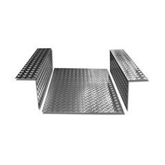 LR84S-3 - Load Area In Chequer Plate - For Defender 90 - 3mm Satin Finish