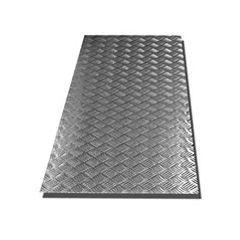 LR99S-3 - 5 Bar Tread Plate 8X4 Sheet - 3mm Satin Finish