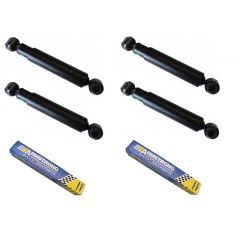 """LRC1021 - Front and Rear Shock Absorber Kit for Land Rover Series - By Armstrong - For SWB 88"""" Series 2, 2A & 3"""