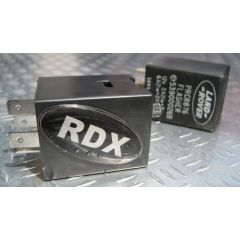LRC1081 PRC8876LED - RDX Flasher Unit for Defender LED Indicator Lamps - Premium Flasher Unit Enables Correct Flasher Rate When LED Lamps Have Been Fitted