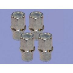 LRC301 - Set Of 4 Locking Nuts With Key For Steel Wheels - For Discovery 2 and Range Rover P38
