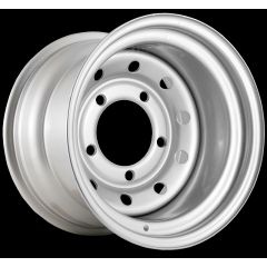 "LRC5004 - Steel Modular Wheel in Silver - 15"" x 10"" - Will Fit Defender, Discovery 1 and Range Rover Classic"