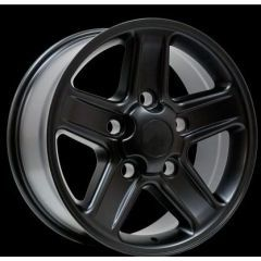 """LRC5027 - Defender 18"""" Boost Alloy In Matt Black - Will Fit Defender, Discovery 1 and Range Rover Classic"""