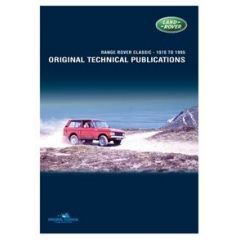 LTP3002 - Range Rover Classic - Land Rover Original Technical Publications DVD