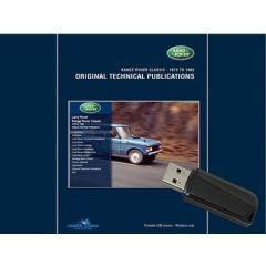 LTP3002USB - Range Rover Classic - Land Rover Original Technical Publications USB