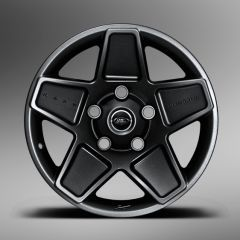 "MOND900B01 - Kahn Design - Defender Mondial Alloy Wheel in Volcanic Black - 9 x 20"" - Single Wheel - Suggested Tyre Size is 275/55/20"