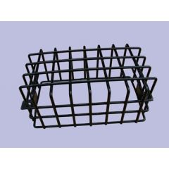 MRC316P - Rear Black Plastic Coated Lamp Guard - Mesh Style - Sold as Single - For Defender and Series