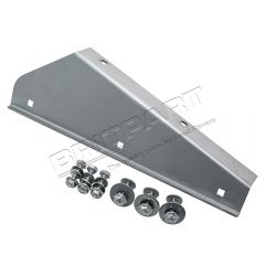 MTC3001SS - Front Left Hand Mudflap Bracket in Stainless Steel for Land Rover Defender