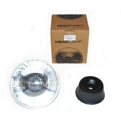 PRC7994 - Single Left Hand Drive Halogen Headlamp - Fits Defender, Series and Range Rover Classic