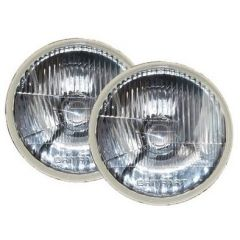 PRC7994K - Pair of Halogen Headlamps with H7 Bulbs Left Hand Drive Pair for Defender, Series and Range Rover Classic