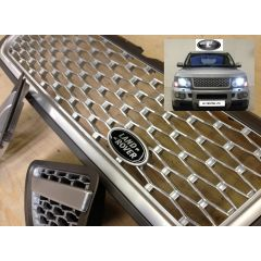 RRG200 - Range Rover Sport 2012 Autobiography Style Grille and Side Vents in Silver and Grey
