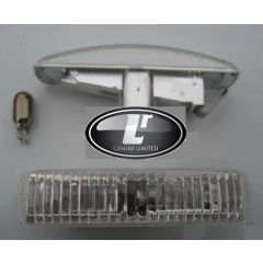 RRR570 - Smoked Crystal Side Repeaters (Replace Amber Flashers) For Range Rover Sport, Discovery 3 & 4 and Freelander 2