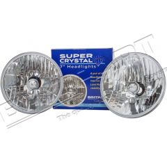 RTC4615C - Crystal Clear Halogen Headlamps - Right Hand Drive- Comes as a Pair with Bulbs