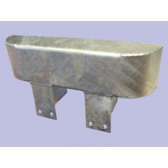 RTC4769 - Single Galvanised Upper Bumper Protection - For Defender and Series