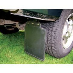 RTC6821 - Aftermarket Rear Mudflap Kit for Discovery 1 - Comes withiout Logo - Pair With Fixings
